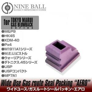 Laylax Nineball Magazine Gas Seal Packing Aero Airsoft USP / MP7 Softair Green