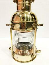 15 INCHES Brass Lighthouse Lantern Ship LAMP Maritime Nautical Wall Hanging Home