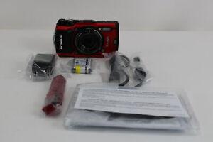Olympus Tough TG-5 12.0MP Digital Camera - Red