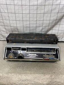 Vintage Panasonic RS-2465 under dash car cassette player vehicle audio RARE
