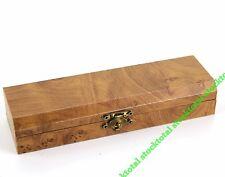 6 CAJA NAVAJA knife box REGALO MADERA 23x4,5x2,7 cm. 34151 M