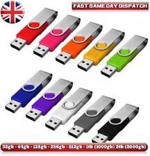 USB 2.0 Memory Stick Flash Thumb Pen Drive Data Storage 8/16/32/64/128/256/512gb