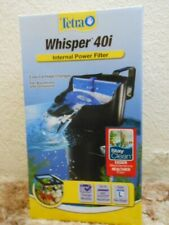 Tetra Whisper In Tank Filter 40I 20 to 40 Gallon filtration New
