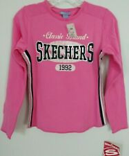 Sketchers girls pink shirt 1992 brand new with tags size large