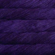 Malabrigo Merino Lana Peinada Aran Hilo/Lana 100g-Púrpura Misterio (30)