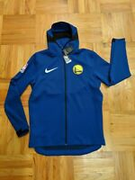 NWT NIKE GOLDEN STATE WARRIORS SHOWTIME THERMA FIT PLAYER ISSUE JACKET XXL TALL