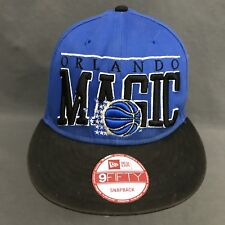 Orlando Magic New Era NBA HWC 9FIFTY Two-Tone Black Blue Snapback Hat Cap