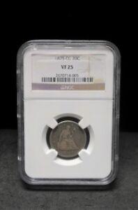 1875-CC Twenty Cent Piece - NGC  VF 25 - 005 - ENN COINS