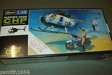 """Hasegawa Hughes 500 """"chips"""" et moto échelle 1:48 Kit"""