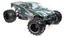 1/5th Exceed RC Hannibal 30cc Gas Off-Road RC Monster Truck 2.4Ghz RTR Green NEW
