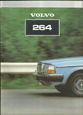 VOLVO 264GL AND 264GLE SALES BROCHURE 1981