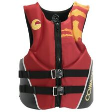 Connelly ASPECT NEO Mens CGA Wakeboard/Ski Vest Size Large Red Black NEW