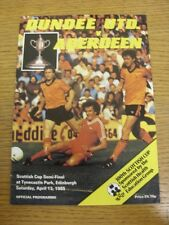 13/04/1985 Scottish Cup Semi-Final: Dundee United v Aberdeen [At Tynecastle Park