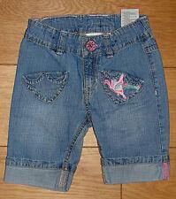 NEU.Ganz süße H & M Jeans Mädchenjeans Mädchen-Jeans Gr 86  Im Bund verstellbar