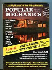 Popular Mechanics Magazine November 1968 Houseboats 062917nonjhe
