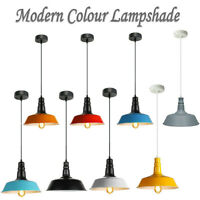 Retro Vintage Style Metal Ceiling Hanging Pendant Light Shade Modern Design Lamp