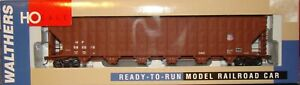 HO Walthers Union Pacific 7,000 CF wood chip hopper #592010 train