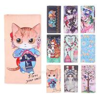 2017 Catoon PU Leather Women Long Purse Wallet Cute Card Coin Holder Clutch Bag
