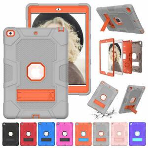 For iPad 10.2 9.7 5th 6th 8th 7th Gen Mini 4 5 Armor Stand Heavy Duty Case Cover