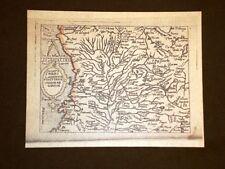 Mappa Milano Theatrum Orbis Terrarum 1724 Abraham Ortelius Ortelio Ristampa