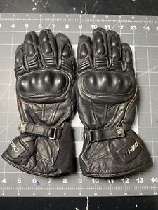 Rev'It! Gloves Women's Black Leather size L Revit Ventilated