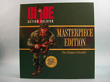 G I Joe Action Soldier Masterpiece Edition Action Figure & History Book
