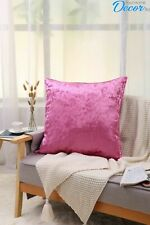 New Plain Faux Fur Cushion Covers Free Postage 45x45 cm 18 x 18 inches