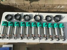 8 Used Tri-Clover SS Butterfly Air Actuator Valves B53-6000T-11/2-E-S-04-1-10 S