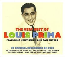 THE VERY BEST OF LOUIS PRIMA - 2 CD BOX SET - OH MARIE, BUONA SERA & MORE