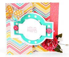 Sizzix Ornate Flip-Its Card #658841 Movers L Base die Retail 29.99 FUN!