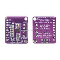 MAX98306 Sensor Stereo Class D Amplifier Breakout Board Class AB Audio 3.7W