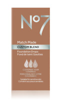 No7 Match Made Custom Blend Foundation Drops CHOOSE SHADE ~Brand New! Discounted