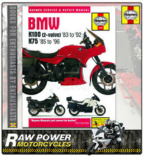 BMW K75 RT (740cc) 1991 - 1996 Haynes Manual (1373)