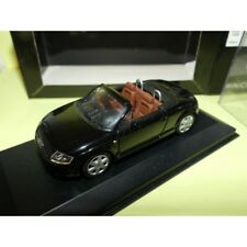 AUDI TT ROADSTER 1999 Noir Black MINICHAMPS 1:43