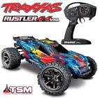 NEW Traxxas Rustler 4x4 VXL Brushless RC Stadium Truck RED w/TSM - FREE SHIP!