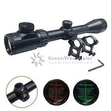 Illuminated Rangefinder Mil Dot Riflescope 3-9X40mm w Mount for Hunting