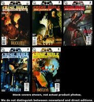 Crime Bible: The Five Lessons 1 2 3 4 5 Complete Set Run Lot 1-5 VF/NM