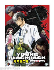 DVD Young Black Jack ( Vol.1-12 End ) Complete Box Set *ENG SUB* + Free anime
