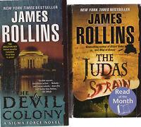 Complete Set Series - Lot of 13 Sigma Force books by James Rollins Sandstorm