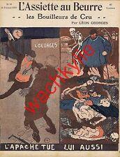 L'assiette au beurre n°98 du 14/02/1903 Les bouilleurs de cru Léon Georges Carré