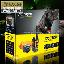 Dogtra 2700T&B Remote Dog Training & Beeper Collar System Hunting Train / Beep
