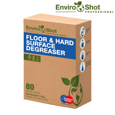 More details for floor hard surface cleaning degreaser 80 capsules food safe 1 capsule = 5 litres