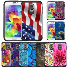 pretty nice b04ab d2160 Cell Phone Hybrid Cases for Samsung Galaxy S5 for sale | eBay