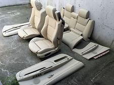 Inkl. UMBAU BMW E93 Cabrio Creme beige Lederausstattung Ledersitze Sitze Leder M