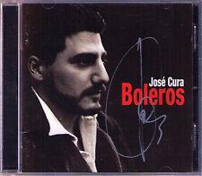 JOSE CURA signé coeurs LATIN LOVE SONGS juguete Somos novios la mentira CD