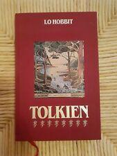 Tolkien Lo Hobbit Edizioni CDE Mondadori '87 signore degli anelli RARO no SALANI