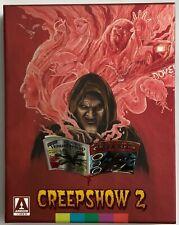 CREEPSHOW 2 LIMITED EDITION BLU RAY + SLIPBOX BOOKLET ARROW VIDEO RARE OOP BUY