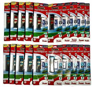 Pentel Pencil Lead Refills w/Eraser Super Hi-Polymer 0.5mm 300 Pieces
