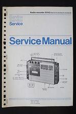 PHILIPS Radio Registratore 8242 Originale Manuale di Servizio/Istruzioni/