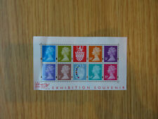 STAMPS GB  2000 SOUVENIR SHEET THE STAMP SHOW  MINT